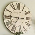 Lanier Wooden Wall Clock