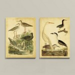 Shorebirds Gathering Wall Hanging