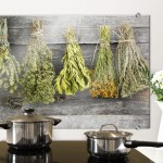 Dried Herbs – Kitchen Splashback