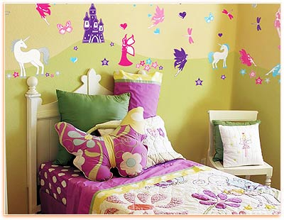 Kids Wall Decorating with Removable Decals - Wall Decoration ...