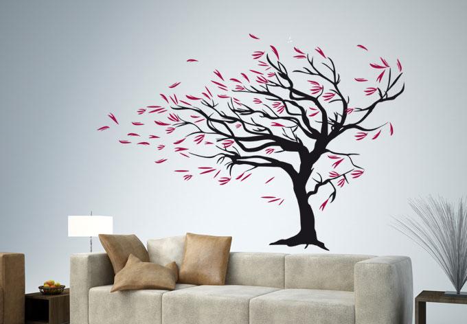 Windy Tree Wall sticker