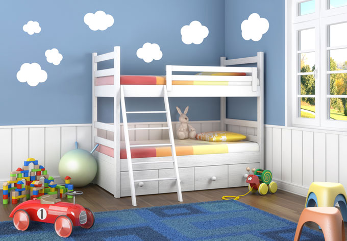 Cloud Set Wall sticker