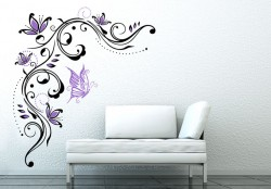 flowerFlower Tendril Wall sticker