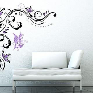 flowerFlower Tendril Wall sticker