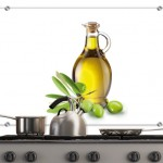 Olive Oil – Kitchen Splashback