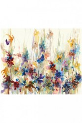 SPRING DROPS CANVAS WALL ART