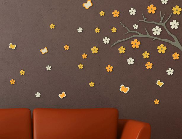 3D foam wall decoration