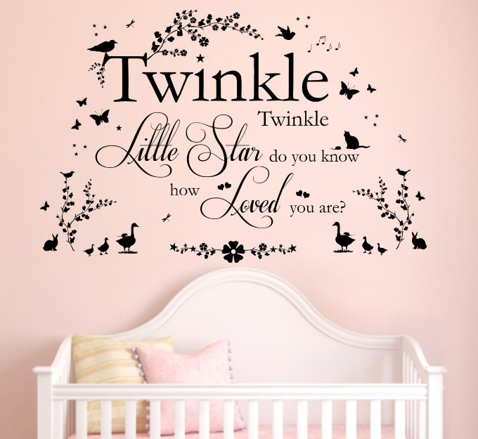 Cute wall decoration for kids room