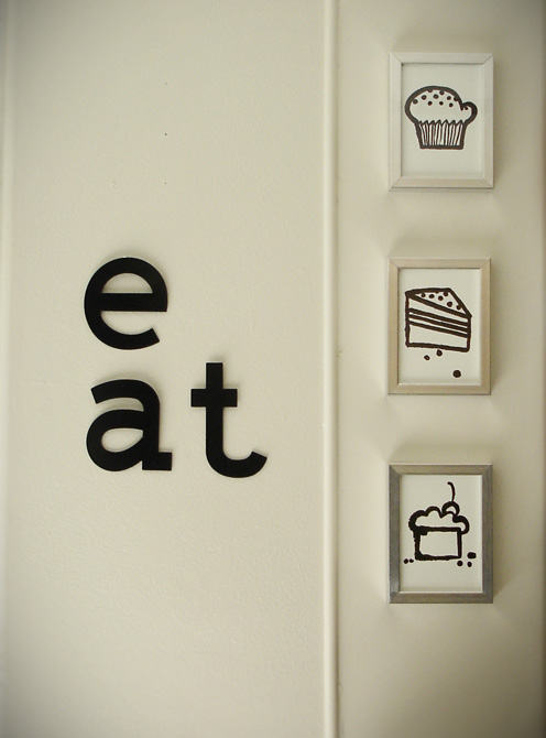 Simple Kitchen wall art