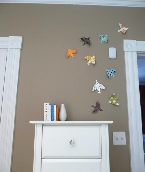 3D Bird wall art