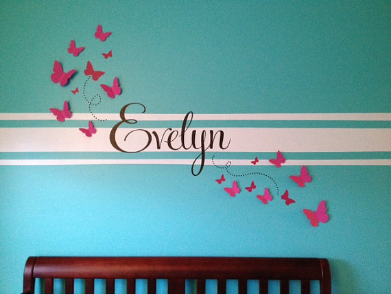 3D Butterfly Wall Art