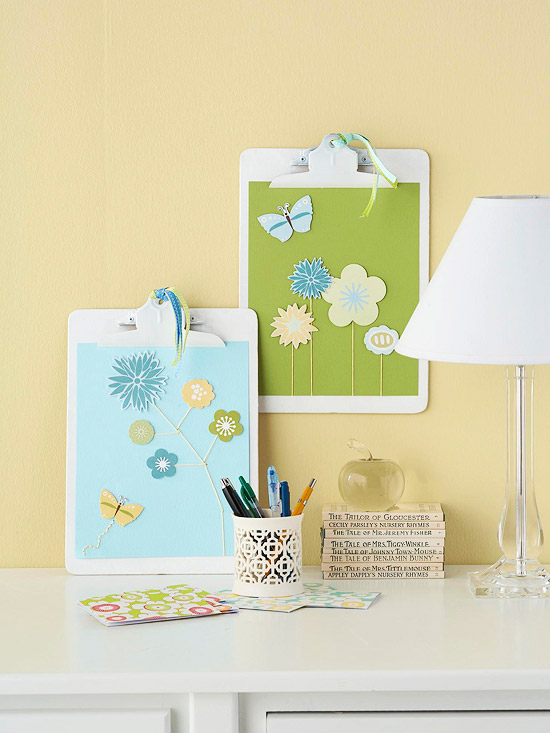Clipboard Wall Art : Clipboard wall art decoration pictures