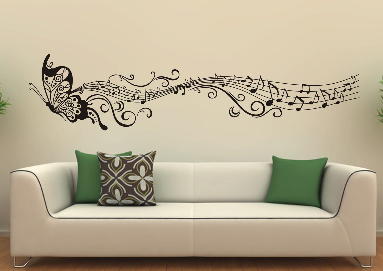 Living Room wall decal