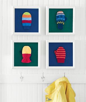 Mittens wall art