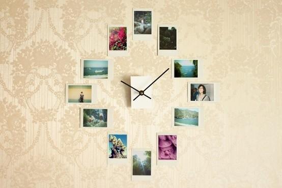 Photo Clock wall art