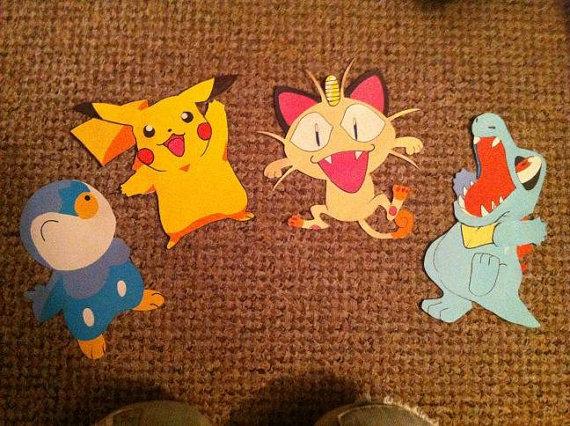 Pokemon Card wall decoration