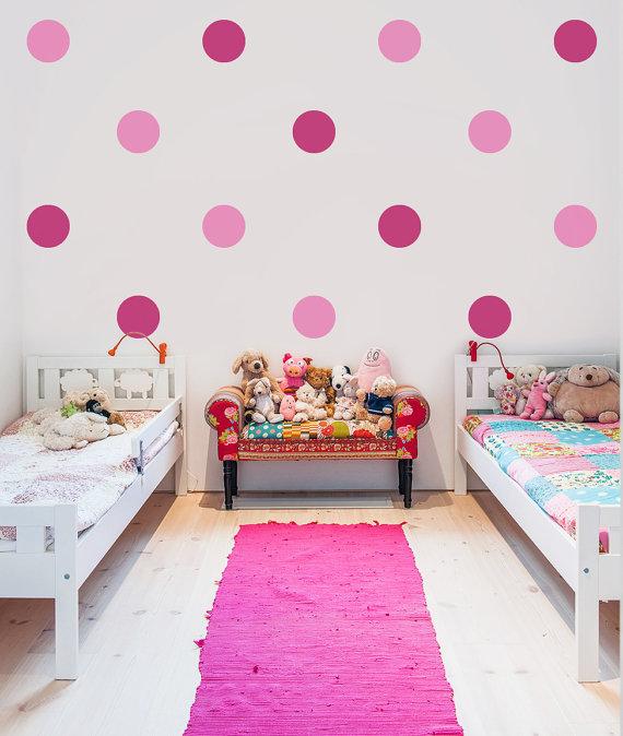 Polka Dot Wall Decoration