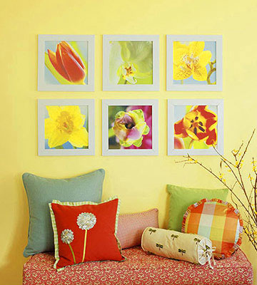 Pretty Floral Wall Art