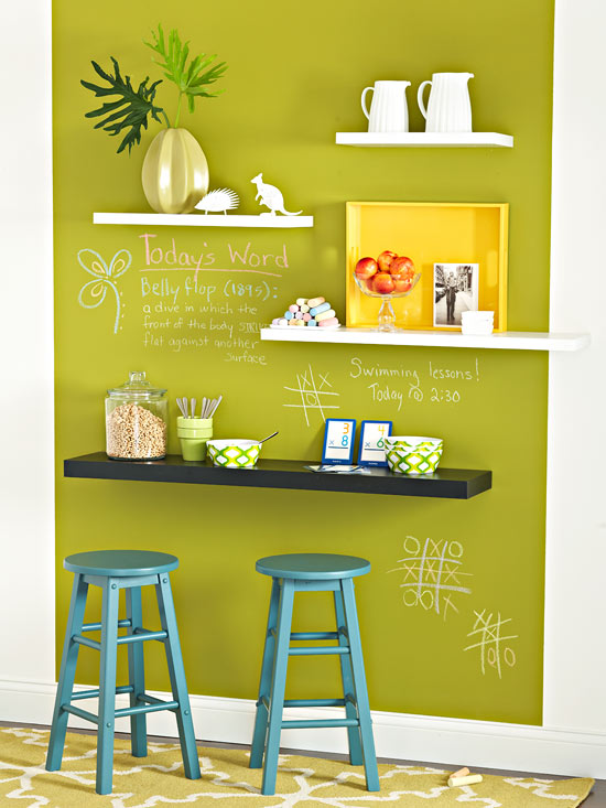 Stagger shelf wall art