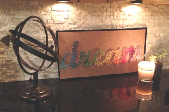 String Wall Decoration