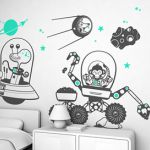 Monkeys and Aliens wall decoration pictures