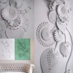 Living Room 3D Wall Panel Interior