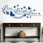 Live, Laugh and Love Wall Sticker