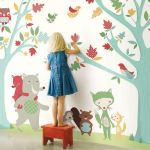 Jungle wall decoration for kids room