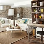 Brick wall decoration for Living Room