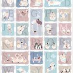 Alphabet Canvas wall art