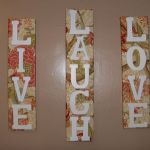 Quotes wall decoration