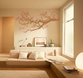 Abstract Decal Wall Decoration