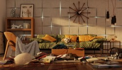 Contemporary Living Room Decoration