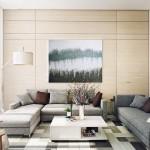 Contemporary Living Room Wall Art