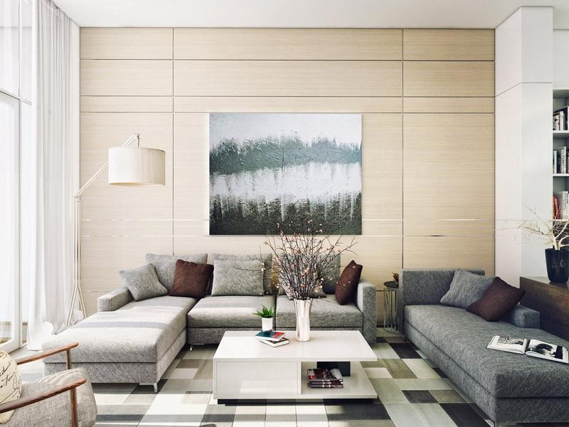 Contemporary Living Room Wall Art - Wall Decoration Pictures Wall ...
