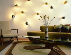 Fancy Lights wall decoration living room