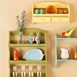 Spice rack kitchen wall decoration