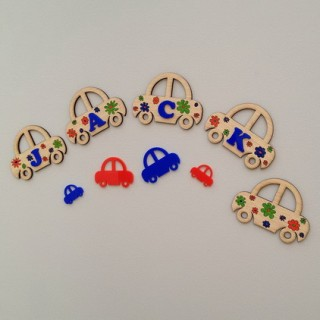 car wall decoration for kids room