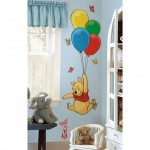 Pooh bear wall decoration for kids room