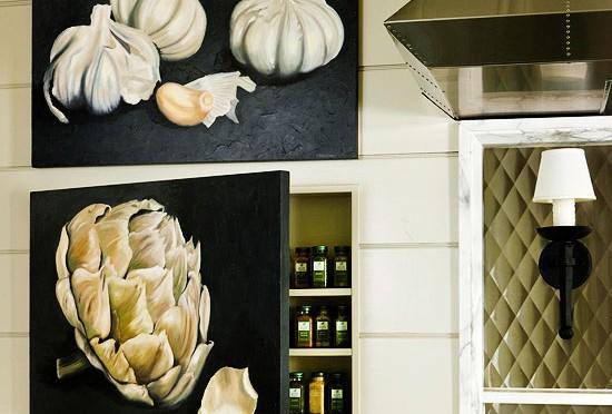 Artsy Kitchen wall art