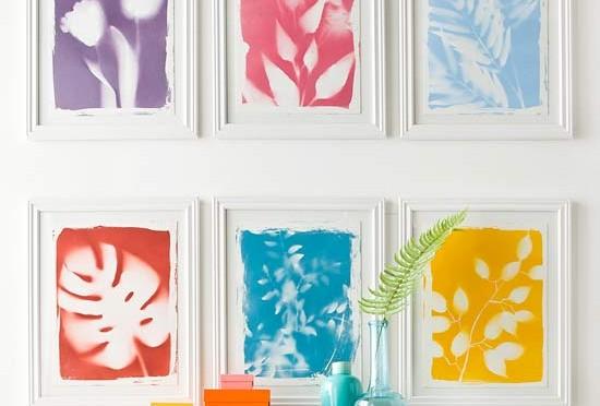 Botanical print wall art