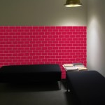 Brick Foam Tiles wall art