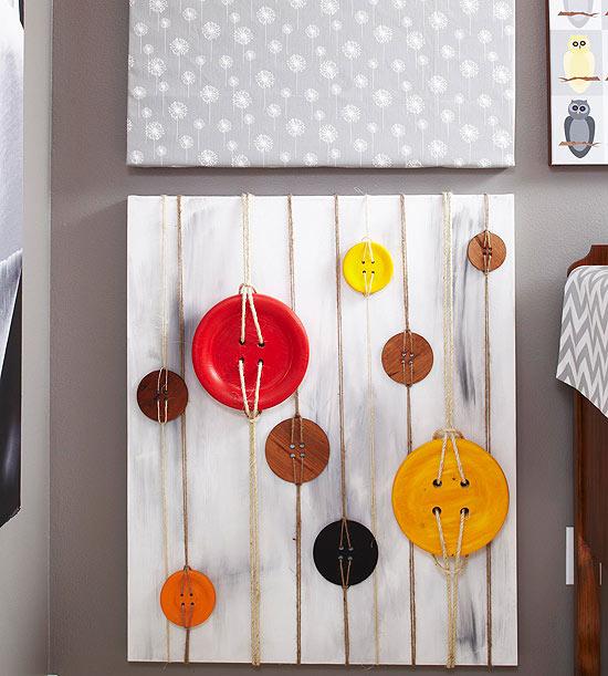 Button Wall Art