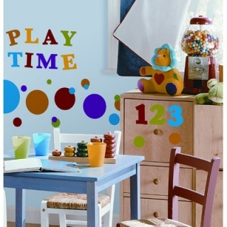 Colorful Kids room wall decoration