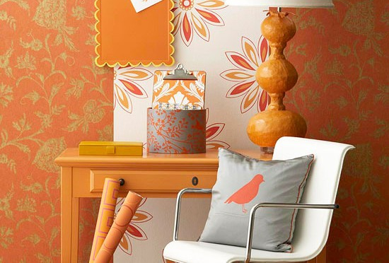 Creative wallpaper wall decoration