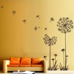 Dandelion Flower Wall Decoration