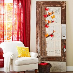 Embellished Door Wall Art