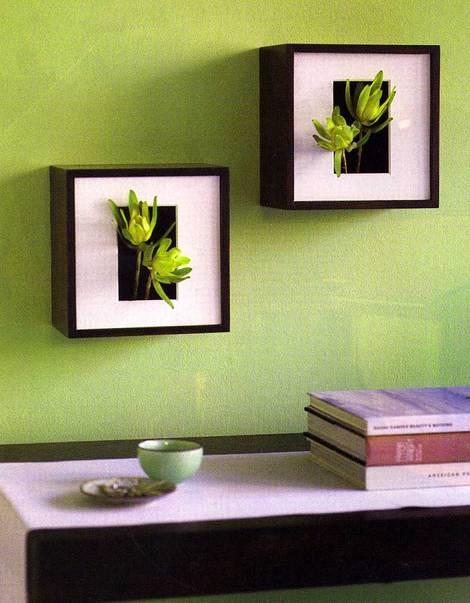 Indoor Plants wall decoration