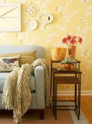 Living room wallpaper decoration