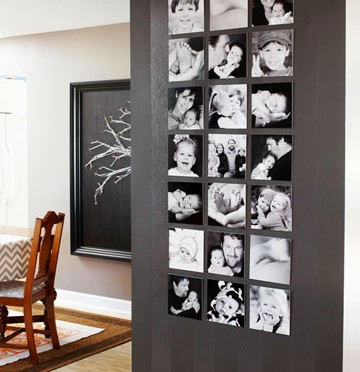 Photograph wall art